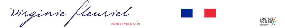 Maillots de bain anti UV Virginie Fleuriel